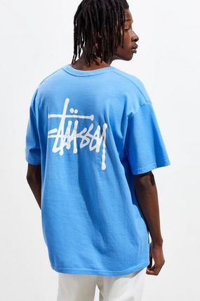 STUSSY Crew Neck Crew Neck Street Style Short Sleeves Crew Neck T-Shirts 8
