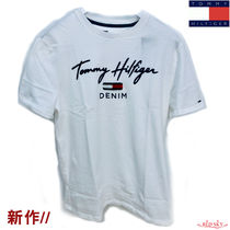 Tommy Hilfiger Street Style Short Sleeves T-Shirts