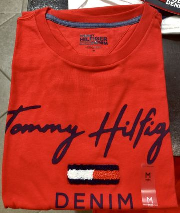 Tommy Hilfiger More T-Shirts Street Style Short Sleeves T-Shirts 17