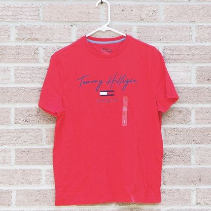Tommy Hilfiger More T-Shirts Unisex Street Style Short Sleeves T-Shirts 18