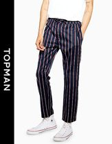 TOPMAN Stripes Street Style Skinny Fit Pants