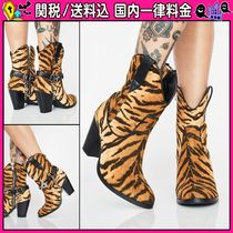 DOLLS KILL Casual Style Other Animal Patterns High Heel Boots