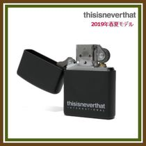 thisisneverthat Unisex Street Style Plain Accessories