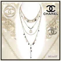 CHANEL Costume Jewelry Chain Elegant Style Necklaces & Pendants