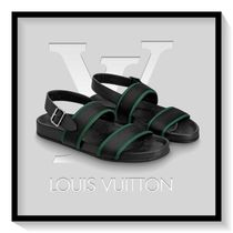 Louis Vuitton Blended Fabrics Plain Leather Sport Sandals Sports Sandals