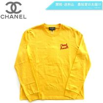 CHANEL Blended Fabrics Street Style Collaboration Long Sleeves