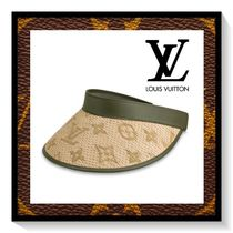 Louis Vuitton Blended Fabrics Straw Hats