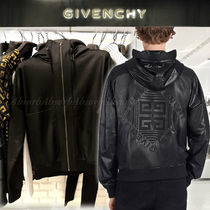 GIVENCHY Short Plain Coach Jackets Coach Jackets