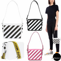 Off-White Stripes Casual Style Unisex Street Style 2WAY Bi-color