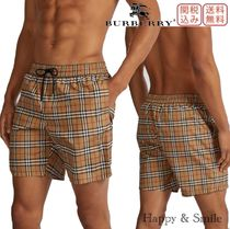 Burberry Other Check Patterns Beachwear