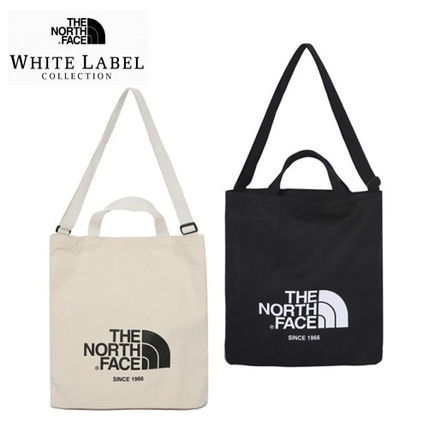 bc8a6ec0d0 ... THE NORTH FACE Totes Casual Style Unisex Canvas 2WAY Plain Totes ...