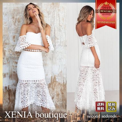 e278c5a01b5 XENIA boutique 2019 SS Tight Long Lace Bold Dresses by secondseconds ...