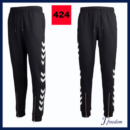 Unisex Street Style Collaboration Joggers & Sweatpants