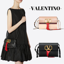 VALENTINO Chain Plain Leather Home Party Ideas Elegant Style