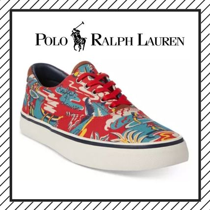 Flower Patterns Tropical Patterns Street Style Sneakers