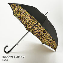 fulton Leopard Patterns Plain Umbrellas & Rain Goods