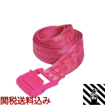Off-White Casual Style Nylon Street Style Belts
