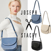 JOSEPH&STACEY Casual Style Street Style Elegant Style Shoulder Bags
