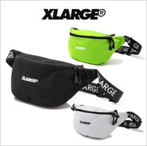 X-Large Nylon Street Style Plain Hip Packs