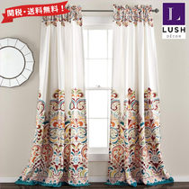LUSH DECOR Damask Curtains