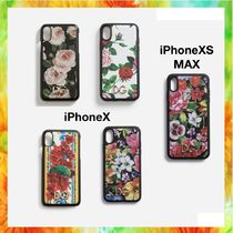 Dolce & Gabbana Flower Patterns Unisex Blended Fabrics Smart Phone Cases