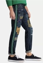 POLO RALPH LAUREN More Jeans Printed Pants Street Style Cotton Logo Jeans 4