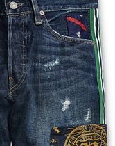 POLO RALPH LAUREN More Jeans Printed Pants Street Style Cotton Logo Jeans 5