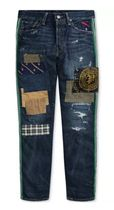 POLO RALPH LAUREN More Jeans Printed Pants Street Style Cotton Logo Jeans 7