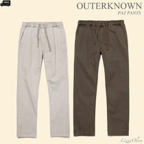 Ron Herman Tapered Pants Plain Cotton Handmade Tapered Pants