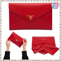 PRADA SAFFIANO LUX Passport Cases