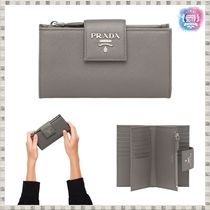 PRADA SAFFIANO LUX Folding Wallets