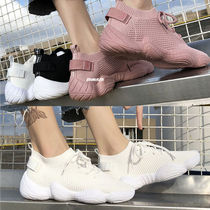 Platform Casual Style Plain Slip-On Shoes