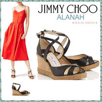 Jimmy Choo Elegant Style Platform & Wedge Sandals