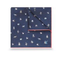 Louis Vuitton Unisex Silk Other Animal Patterns Scarf Handkerchief
