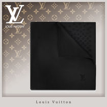 Louis Vuitton MONOGRAM Monogram Unisex Silk Handkerchief