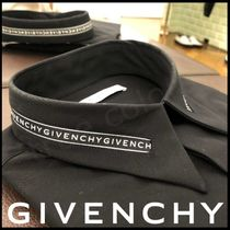 GIVENCHY Button-down Long Sleeves Plain Cotton Shirts