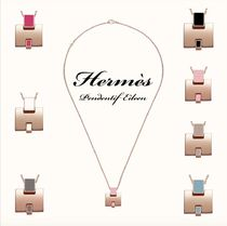 HERMES Chaine dAncre Casual Style Blended Fabrics Necklaces & Pendants