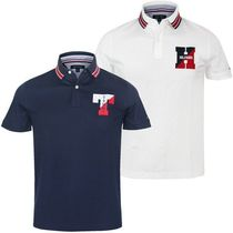 Tommy Hilfiger Unisex Street Style Cotton Short Sleeves Polos