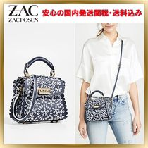 ZAC ZAC POSEN 2WAY Leather Elegant Style Shoulder Bags