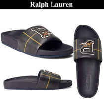 POLO RALPH LAUREN Other Check Patterns Shower Shoes Shower Sandals