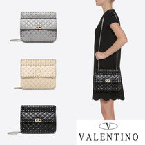 VALENTINO Casual Style Studded Street Style Home Party Ideas