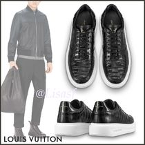 Louis Vuitton Blended Fabrics Street Style Bi-color Other Animal Patterns