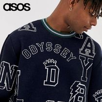 ASOS Crew Neck Long Sleeves Knits & Sweaters