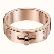 HERMES With Jewels Elegant Style Rings