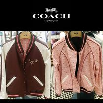 Coach Short Heart Star Casual Style Street Style With Jewels Bold