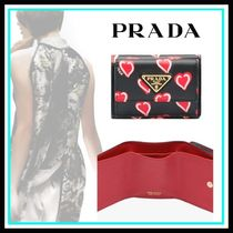 PRADA Heart Blended Fabrics Leather Home Party Ideas