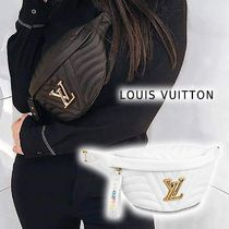 Louis Vuitton NEW WAVE BUMBAG noir, snow one size handbag