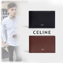 CELINE Calfskin Folding Wallets