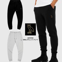 OCTOBERS VERY OWN Nylon Street Style Plain Cropped Pants