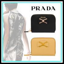 PRADA Leather Home Party Ideas Coin Purses